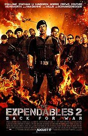 Taut, violent, and suitably self-deprecating, The Expendables 2 gives classic action fans everything they can reasonably expect from a star-studded shoot-'em-up -- for better and for worse.