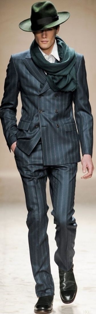 Salvatore Ferragamo Fall 2011 | Men's Fashion | Menswear | Moda Masculina | Shop at designerclothingfans.com