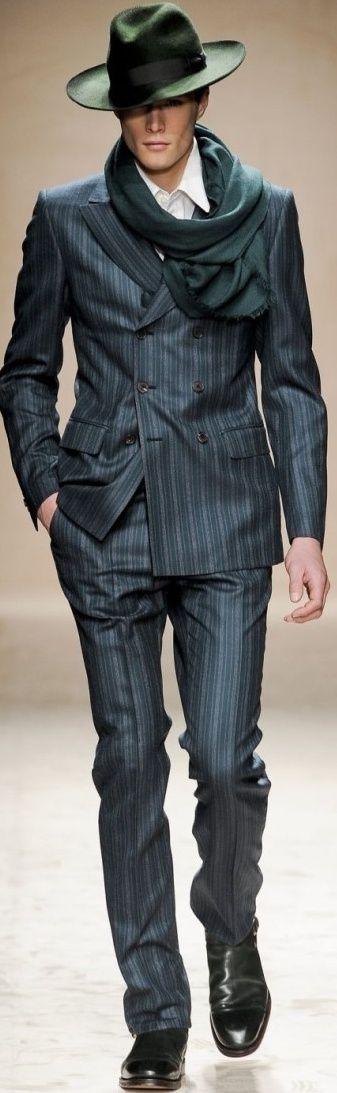 Salvatore Ferragamo Fall 2011 | Men's Fashion | Menswear | Moda Masculina | Shop at designerclothingfans.com