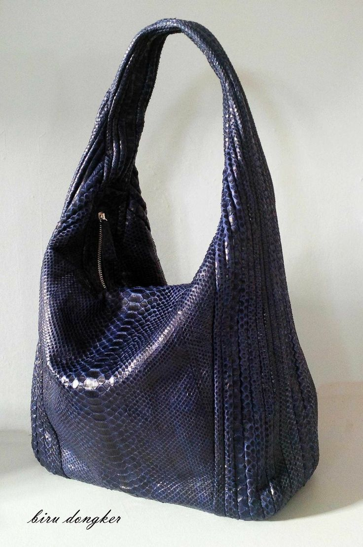 Blue python hobo .... $180 you can have it @Balinesia Ethnic purses