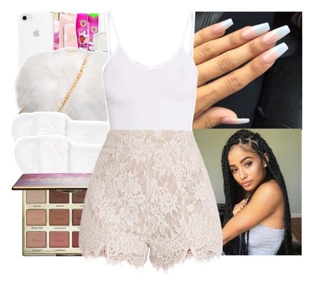 """""""fan fest"""" by princessjolie ❤ liked on Polyvore featuring Puma, BasicGrey and tarte"""
