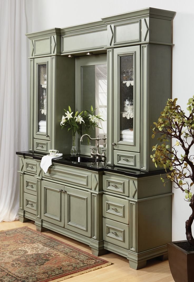 Madison Pistachio By Bertch Cabinet Manufacturing