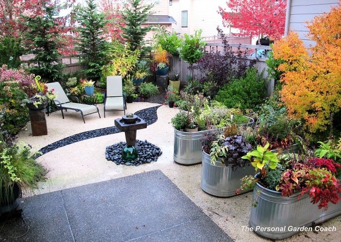 Galvanized trough planters garden porch containers pinterest galvanized trough trough - Galvanized containers for gardening ...