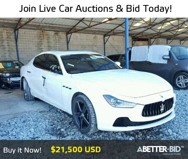 Salvage luxury cars for sale los angeles 16