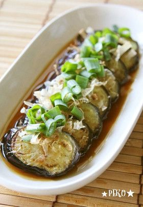 フライパンで簡単☆ゴマ油で焼きナス☆ by ★peko★ [クックパッド] 簡単おいしいみんなのレシピが248万品