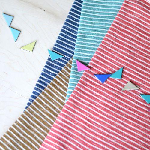 Loopback Sweatshirting, Agate Green - Vanilla   NOSH Autumn & Winter 2016 Fabric Collection is now available at en.nosh.fi   NOSH syksyn 2016 uutuuskankaat saatavilla verkosta nosh.fi