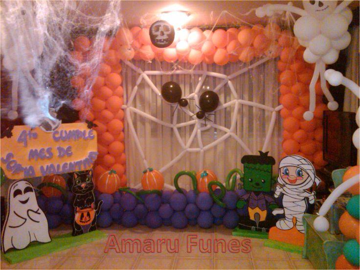 42 best mis decoraciones de fiesta infantil images on - Fiesta halloween infantil ...