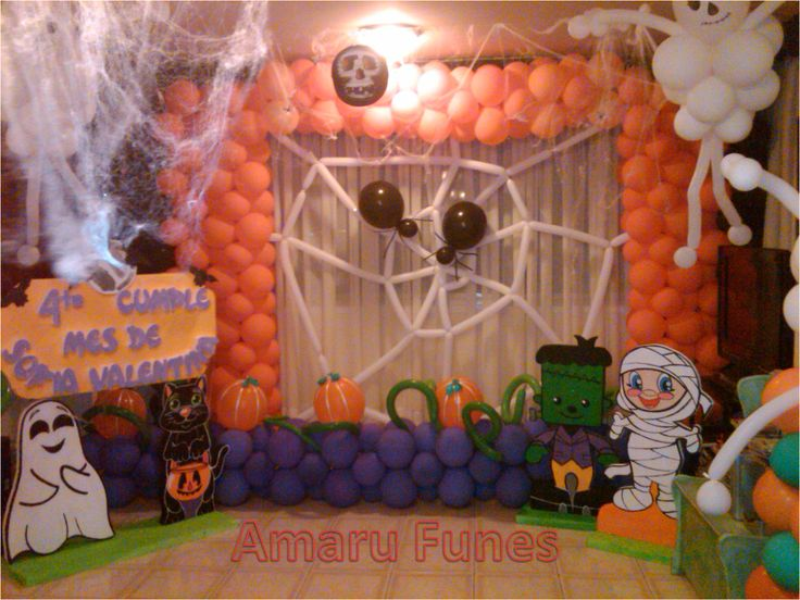 42 best images about mis decoraciones de fiesta infantil for Decoracion fiesta halloween
