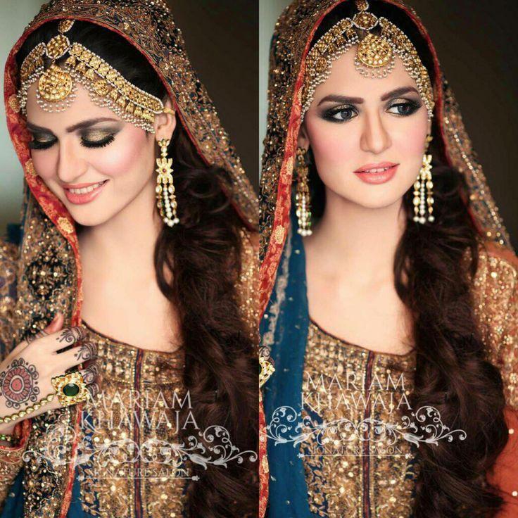 Best 25+ Pakistani Bridal Makeup Ideas On Pinterest | Indian Bridal Makeup Bollywood Makeup And ...