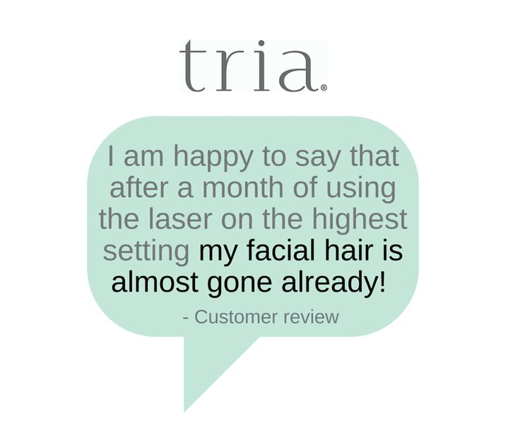 One of the latest customer reviews for our Hair Removal Laser 4X. It uses the same diode laser technology preferred by dermatologists to target and permanently disable the hair follicle. #hairremoval #laser #hair #beauty #TriaBeauty