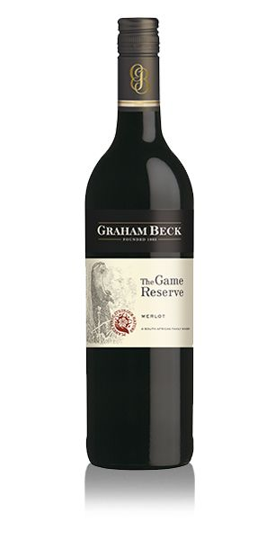 Graham Beck The Game Reserve Merlot scores 80 points and 5 stars for value. #wine #SouthAfrica