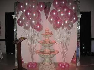 20 best xv a os images on pinterest balloons balloon for Decoracion de globos para fiestas infantiles paso a paso