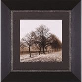 Found it at Wayfair - Row Of Trees Framed Artwork