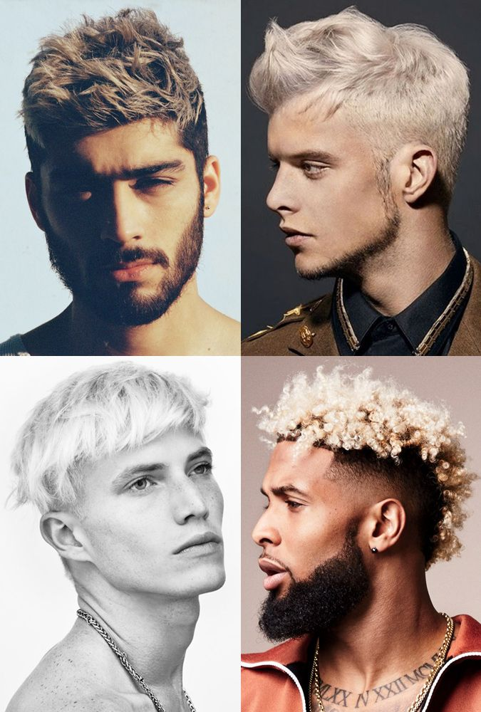 Top Mens Styles 2018 Bleached Crop Mens Haircuts Cool
