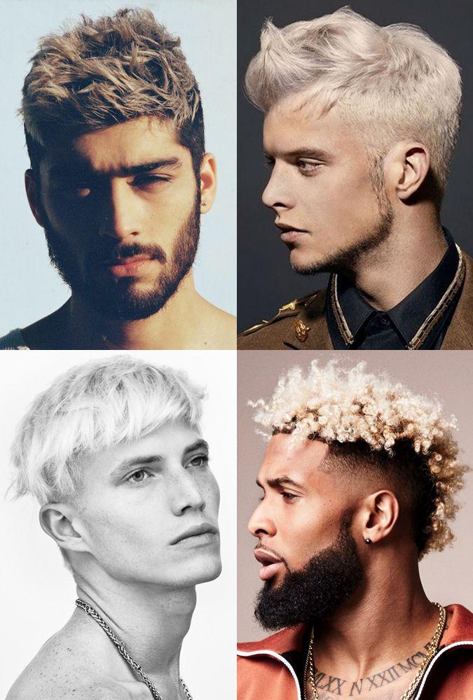 Top Men's Styles 2018 Bleached Crop Mens hairstyles