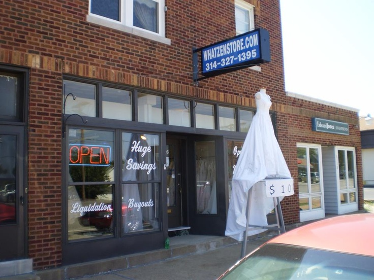 Whatzen In Affton St Louis Has A Huge Selection Of Brand New Wedding