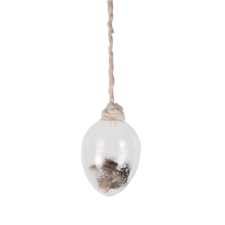 Glassegg med perlehønsfjær | Kremmerhuset #Kremmerhuset #Interior #Inspiration