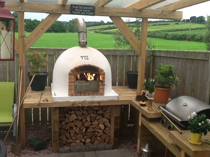 Amigo Ovens Maybe Extend The Pergola Roof Further At The