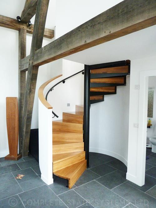 Best 15 Best Timber Spiral Staircases Images On Pinterest 400 x 300