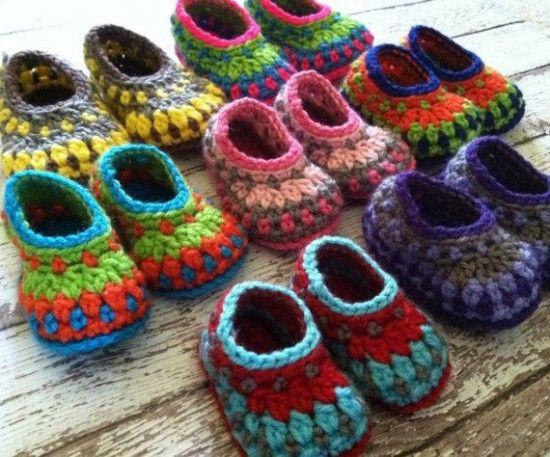 Galilee Crochet Booties