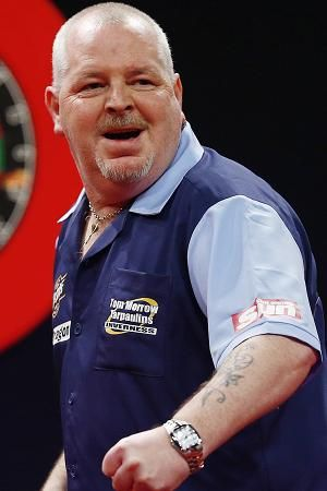 Robert Thornton - Darts Player - Mystery Guest. 2008.