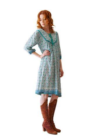 Courtney Indian Dress | Spanish Moss