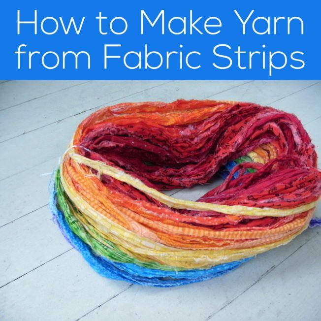 Making Yarn From Fabric Strips Shiny Happy World Crochet Rag Rug Braided Rug Diy Yarn Diy