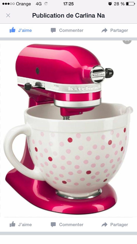 The 25+ best Kitchenaid pink ideas on Pinterest