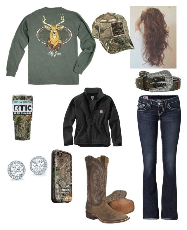 """Twelve-Point Buck "" by babyinblue on Polyvore featuring True Religion, Vineyard Vines, M&F Western, Carhartt, LifeProof and Realtree"
