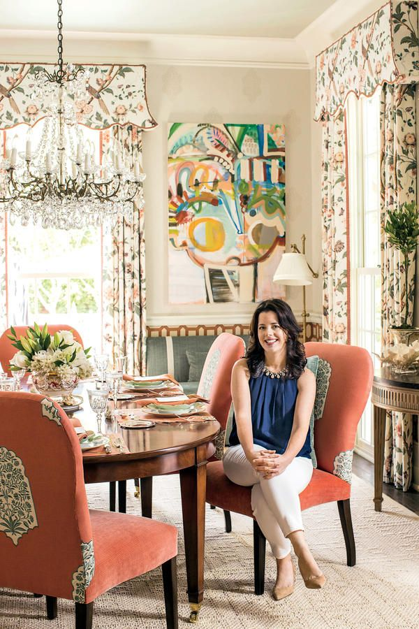Margaret Kirkland Designed The Dining Room In Our 50th Anniversary Idea House