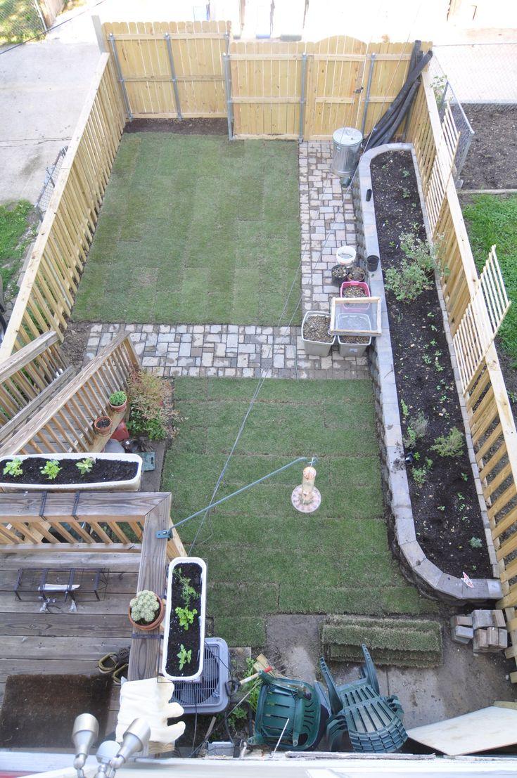 Pin On Karen Row house backyard design