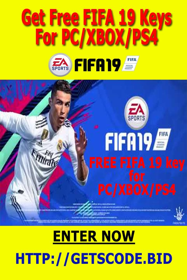 FIFA 19 free key - How to get free FIFA 19 key for PC/XBOX