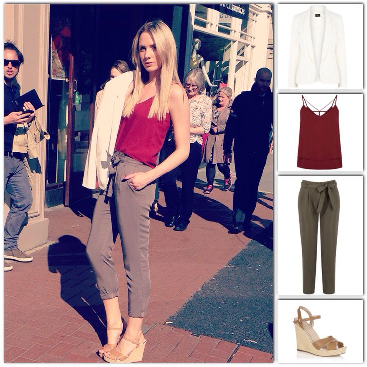 Utility vibes with burgundy accents  - Judy x