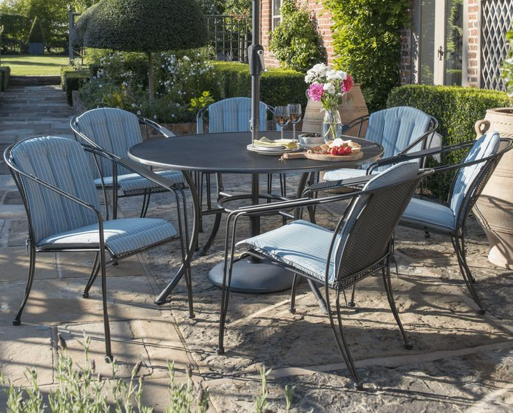 Dine on beautiful mesh garden furniture with Kettler 28 best Garden Furniture images on Pinterest   Garden furniture  . Kettler Bretagne 8 Seater Outdoor Dining Table. Home Design Ideas
