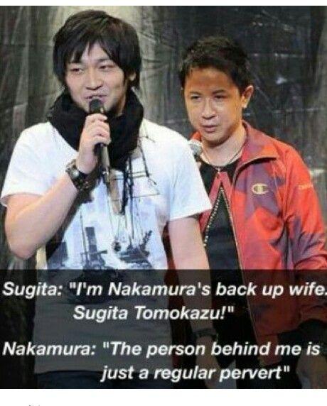 Ahhahaha Sugita-san and Nakamura-san... Bffff...