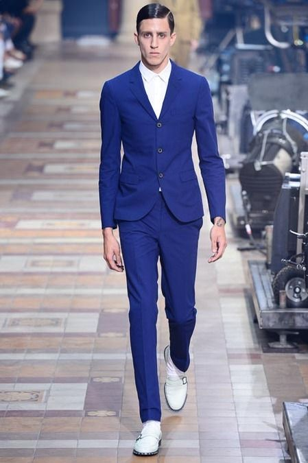 Strong royal - Lanvin SS14 via style.com couttsconsultancy.com keeping an eye on the latest trends