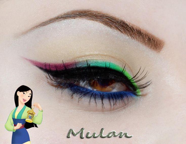 Disney Princess Inspired Eye Makeup Disney Pinterest