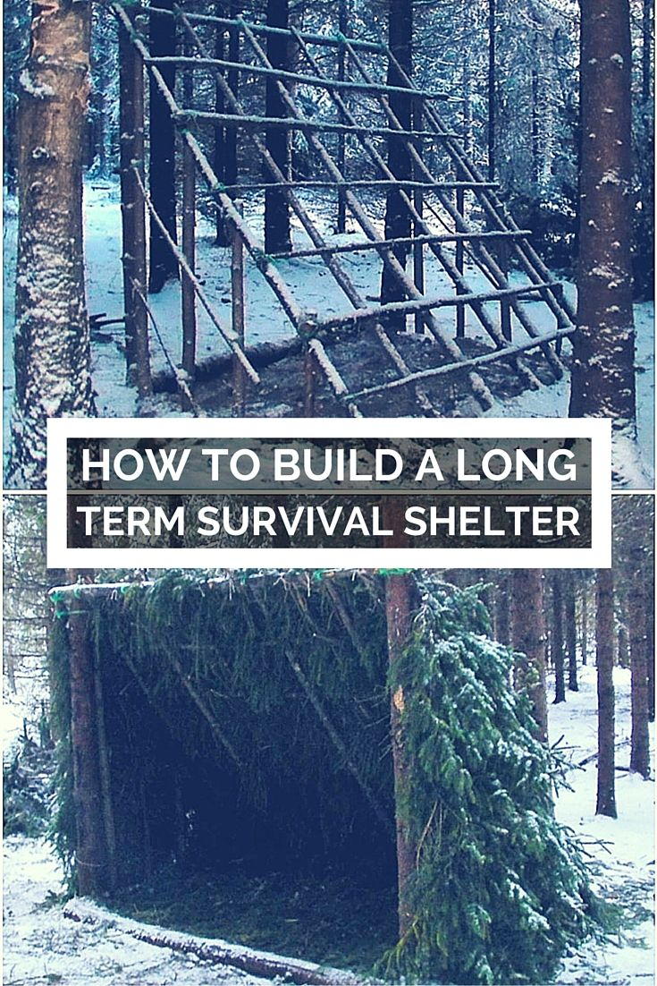 How To Build A Long Term Survival Shelter - If your home or retreat is compromised in a long term collapse scenario, what are your options for shelter? If it's a week or so in the summer, no big deal - but what if it's the dead of winter, or weeks turn into months or longer?