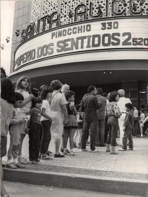 cinesantaalice O Cine Santa Alice, na Rua Barão do Bom Retiro, 1095, no Engenho Novo, era um cinema grande, do porte de outros grandes cinemas como Metro Boavista e Metro Tijuca, que também já não existem mais. Inaugurado em 1952,