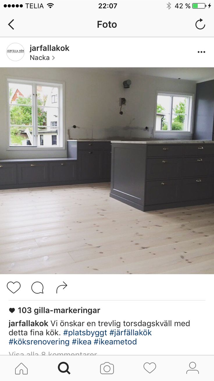 Inredning måttbeställd bänkskiva : 54 best Prinsens Kök images on Pinterest | Black kitchens, Kitchen ...