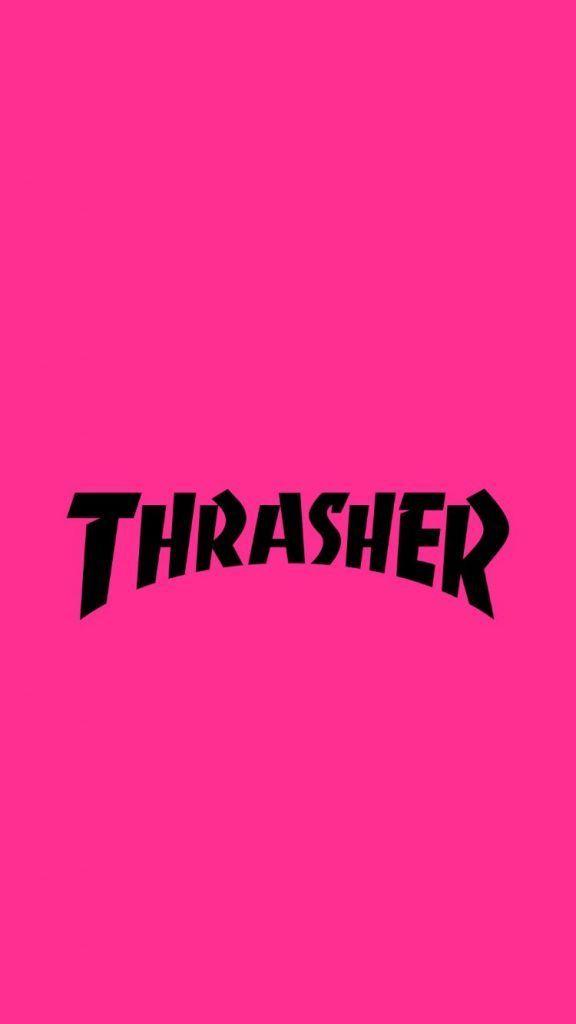 THRASHER/スラッシャー[13]無料高画質iPhone壁紙 Pink wallpaper iphone