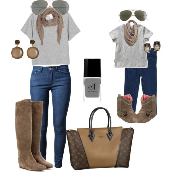 """""""mommy and me (fall 13)"""" by zazagabor on Polyvore"""