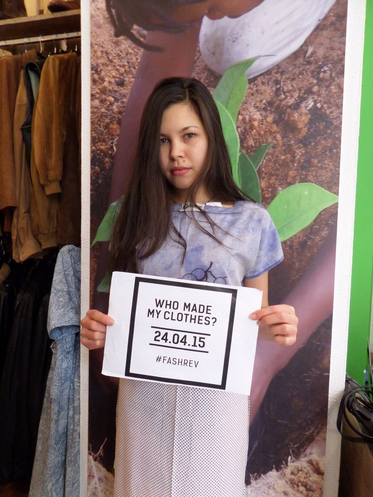 #Whomadeyourclothes?  Fashion Revolution Day 2015