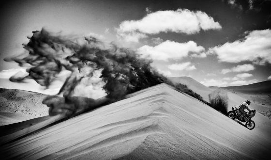 Dune & moto, Paris-Dakar