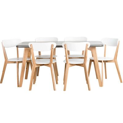 Temple & Webster | Oslo 7 piece dining set | $1,100