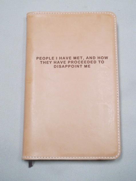People I have met.