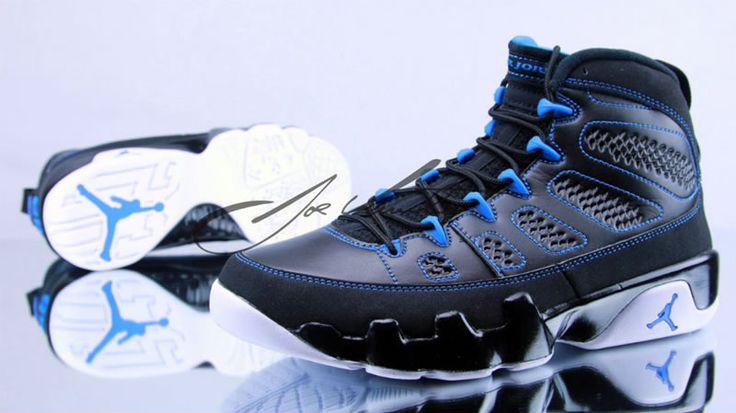 "Jordan 9 Retro ""Photo Blue"" (2012). Share more New Jordans 2014 joy with my blog www.23isback.me ."