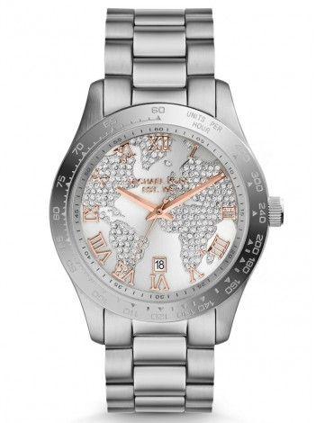 MICHAEL KORS Layton stainless steel bracelet MK5958 http://kloxx.gr/brands/michael-kors/michael-kors-layton-stainless-steel-bracelet-mk5958