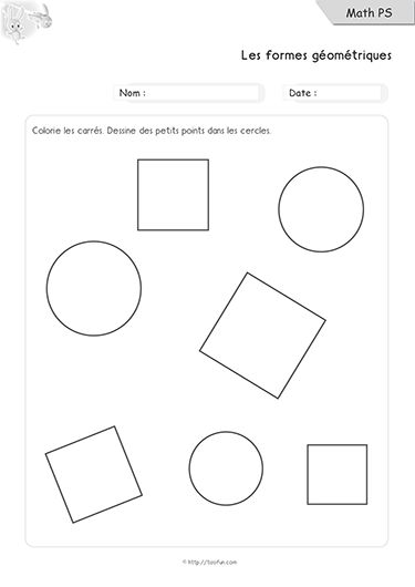 formes geometriques maternelle ps 02 math petite section 3 ans mathematiques pinterest. Black Bedroom Furniture Sets. Home Design Ideas