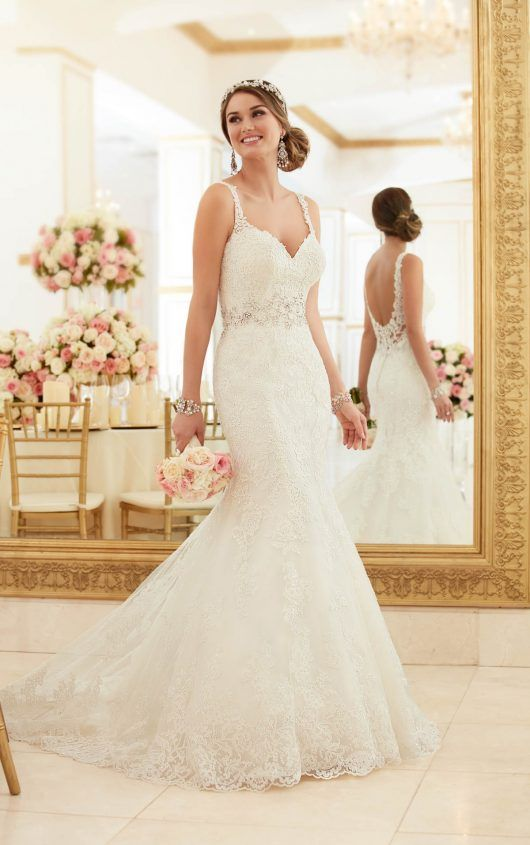 Simple  best Wedding dresses images on Pinterest Wedding dressses Marriage and Mermaid wedding dresses